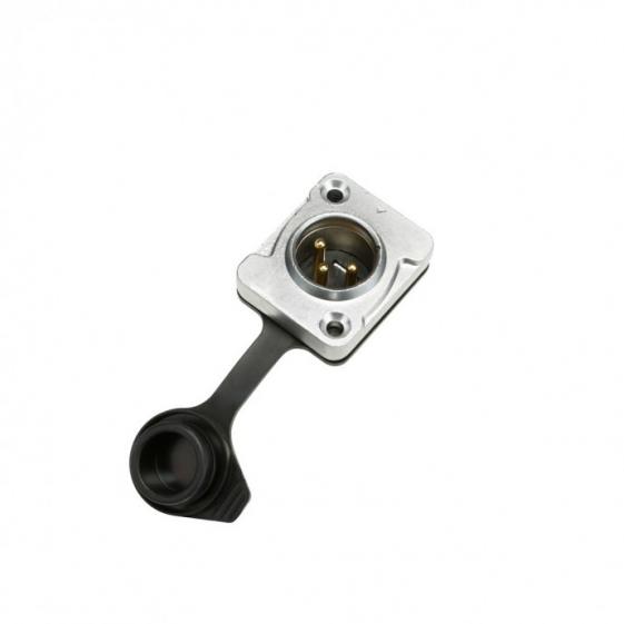 Adam Hall 7915 Разъем панельный XLR 3-pin тип-D (вилка) IP65