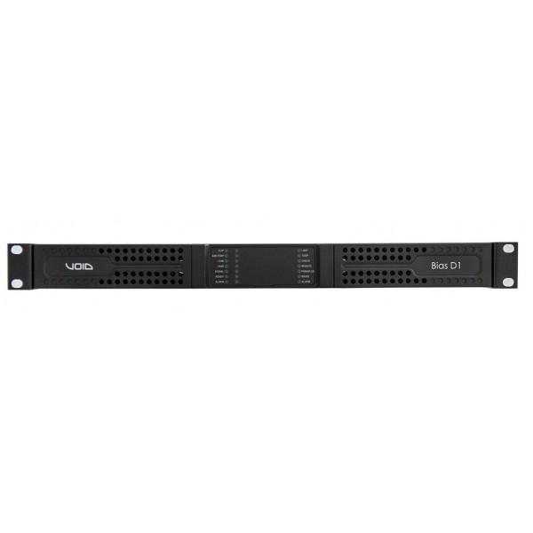 VOID Bias D1 2-х канальный усилитель мощности с DSP и поддержкой Dante