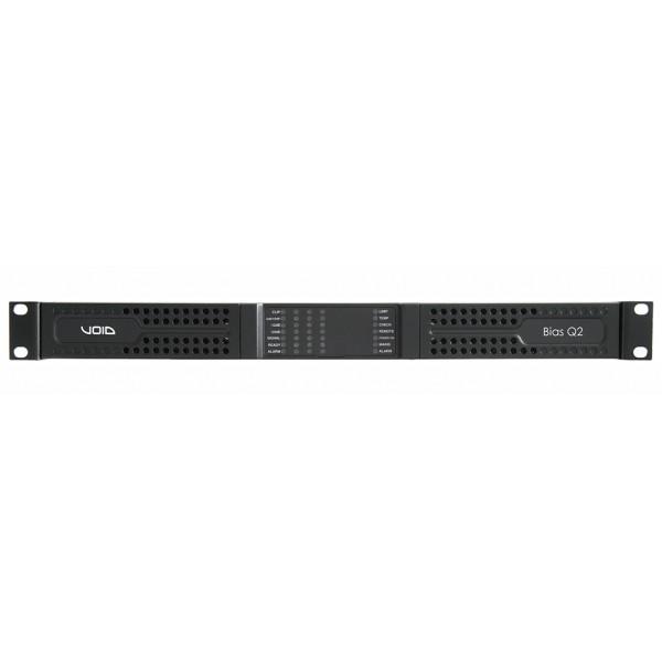VOID Bias Q2 4-х канальный усилитель мощности с DSP и поддержкой Dante