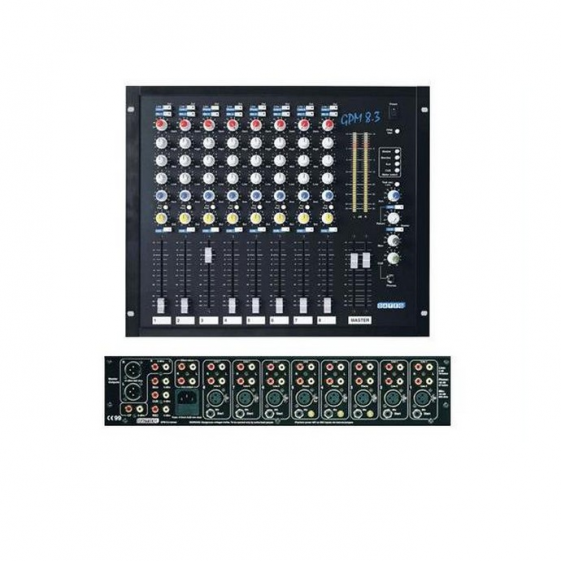 DATEQ GPM8.3 8-канальный микшерный пульт