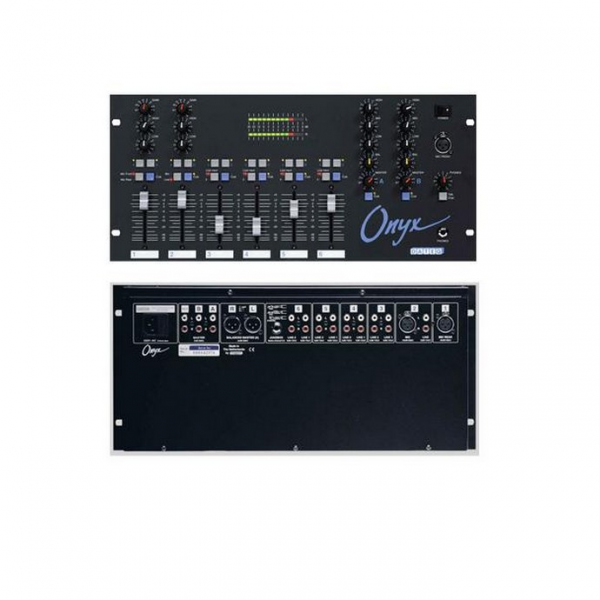 DATEQ ONYX 6-канальный клубный рэковый микшер
