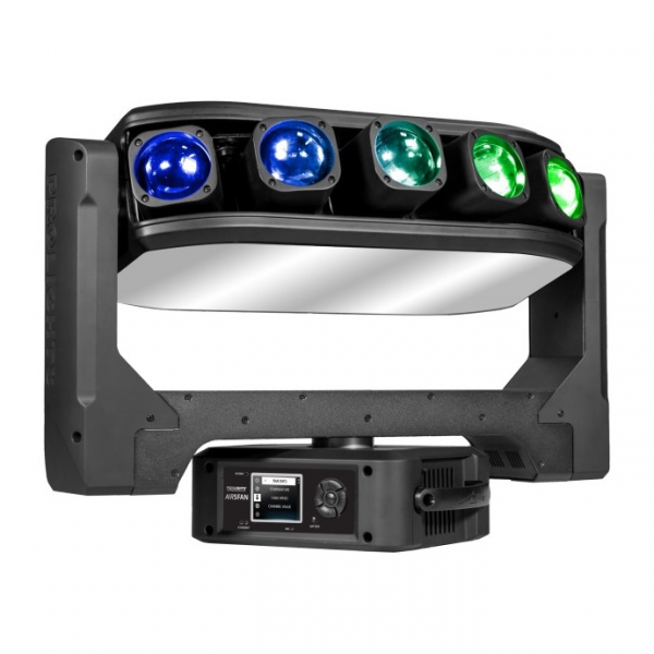 ProLights AIR5FAN вращающаяся голова 5x40 W RGBW