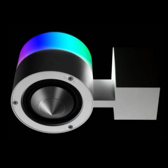 NEWTEC CONO solo RGB LED настенная колонка 90 Вт/8 Ом LED светильник