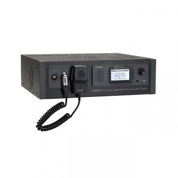 PASO PA8506-V Система оповещения и управления эвакуацией (СОУЭ) на 6 зон