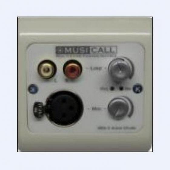 MUSICALL MRA2 Настенная панель для подключения и управления источниками