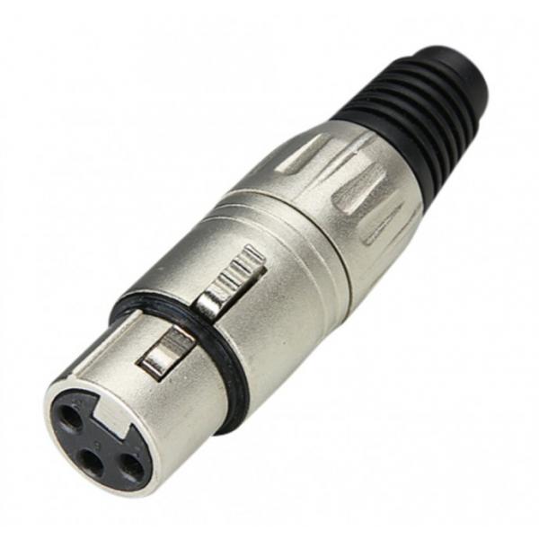 Adam Hall 7898 Разъем кабельный XLR 3-pin (розетка)