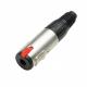 Adam Hall 7896 Разъем кабельный JACK стерео 6,3 мм (розетка) с фиксатором