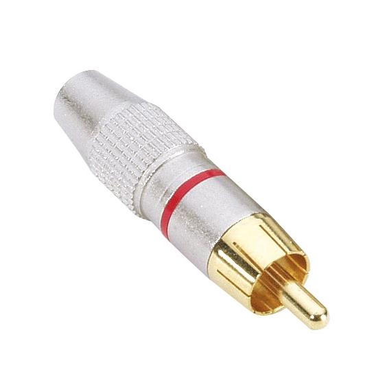 Adam Hall 7620RED Разъем кабельный RCA (штекер)
