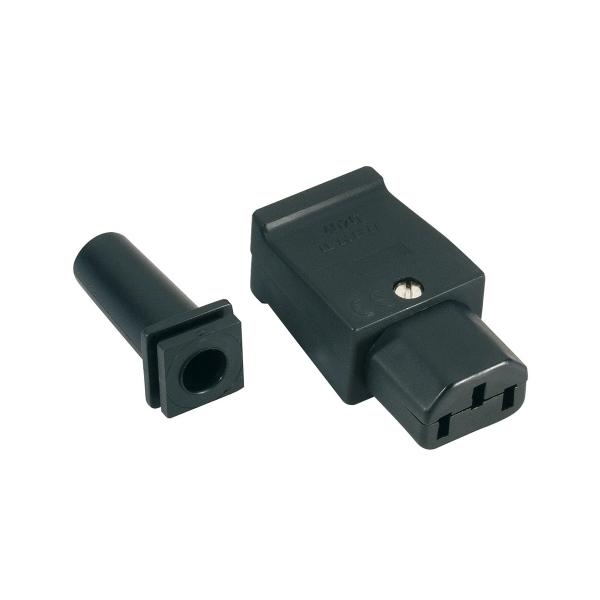 Adam Hall 8101P Разъем кабельный силовой IECC Евро (розетка)
