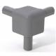 Adam Hall EASY CASE Q4506MG уголок стыковочный (31х31) серый