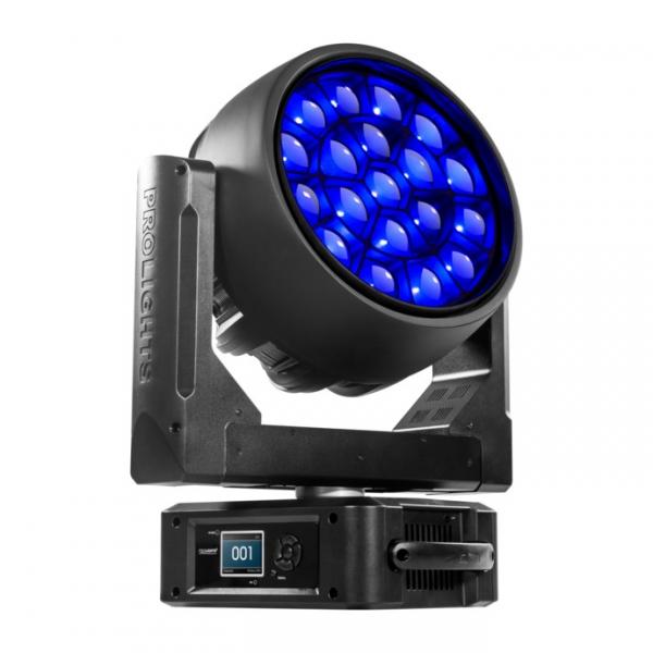 ProLights STARK1000 CC вращающаяся голова 19x40W RGBW full-colour LEDs