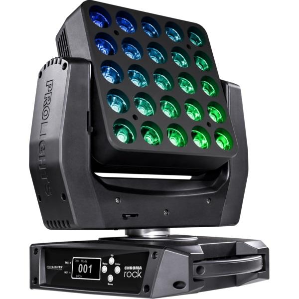 ProLights CHROMAROCK (Music&Lights) LED-washer вращающаяся голова