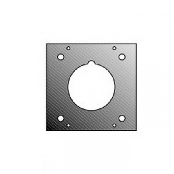 Adam Hall 872847 Панель 2/10 для розетки СЕЕ 1 фаза для модульного конструктора