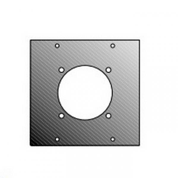 Adam Hall 872846 Панель 2/10 для розетки Шуко для модульного конструктора