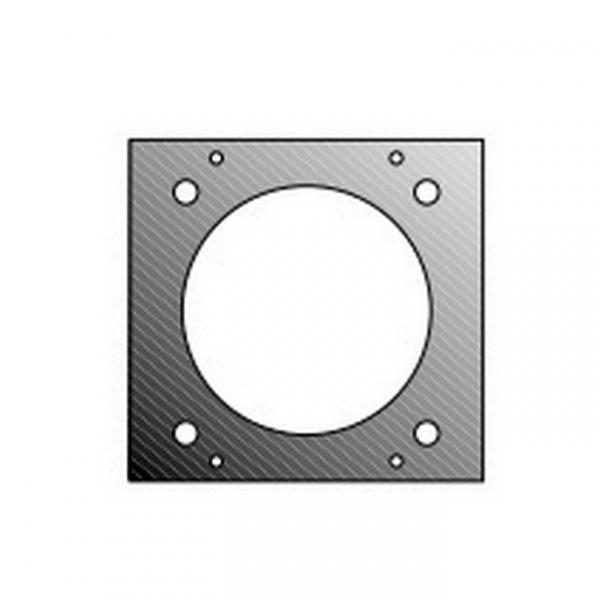 Adam Hall 872848 Панель 2/10 для розетки СЕЕ 3 фазы для модульного конструктора