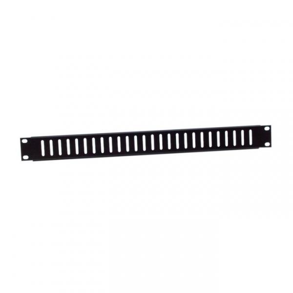 """Adam Hall 87221V Вентиляционная панель 1U с вертикальными пазами  для рэковой стойки 19"""""""