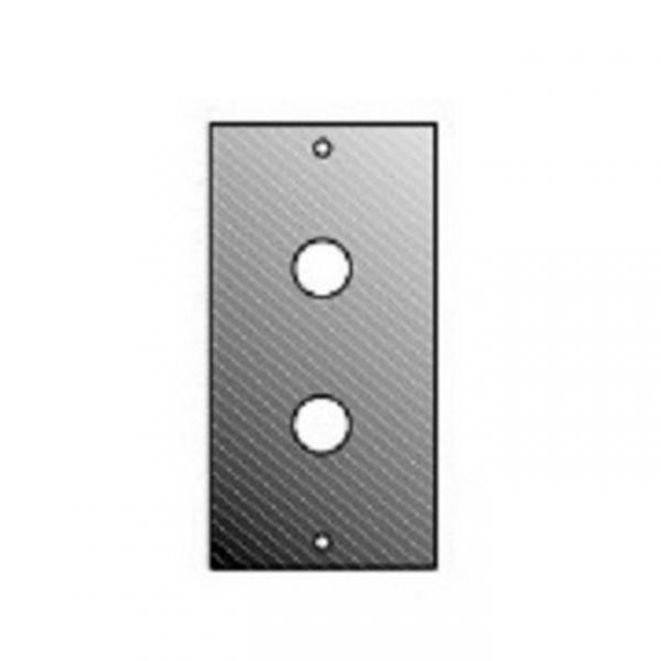 Adam Hall 872822 Панель 1/10 для 2-х RCA/jack, для модульного конструктора