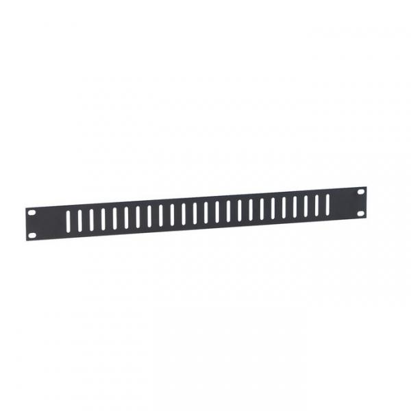 """Adam Hall 8721V Панель 1U с вертикальными пазами для рэковой стойки 19"""" плоская"""