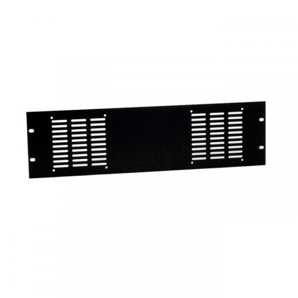 """Adam Hall 8763 Панель 3U для двух вентиляторов рэковой стойки 19"""""""