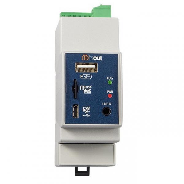INOUT NP-2 управляемый флеш-аудио плеер со встроенным усилителем