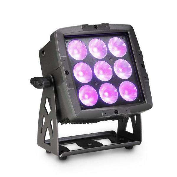 Cameo FLAT PRO FLOOD 600 IP65 прожектор заливного света 9x12W RGBWA+UV 6-In-1