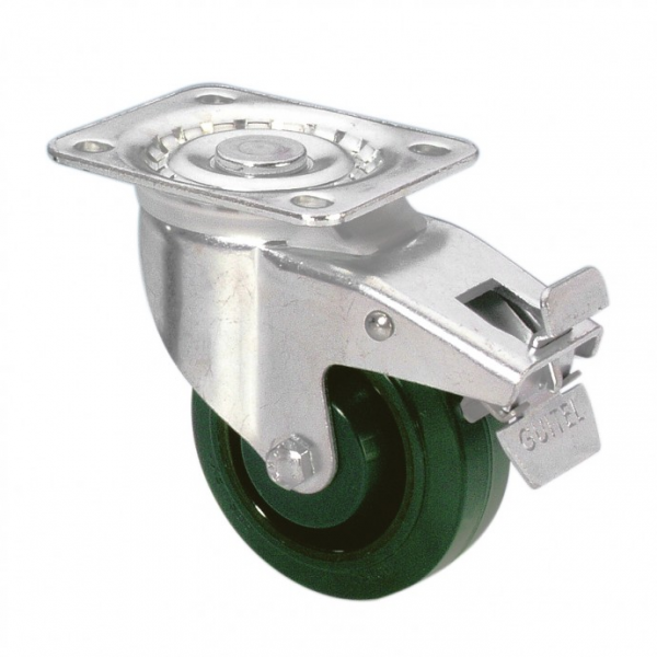 Adam Hall 37026 колесо поворотное с тормозом