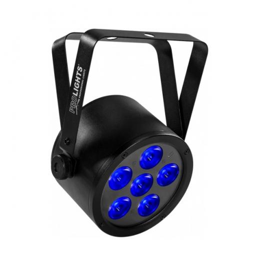 MUSIC & LIGHTS BATPAR6UTRI беспроводной световой прибор 6 x 3 W