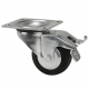 Adam Hall 370091 колесо поворотное с тормозом