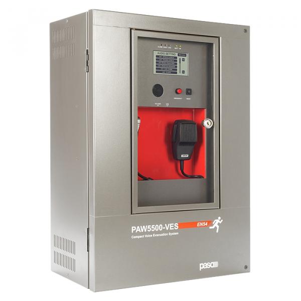 PASO PAW5504-V Готовая система СОУЭ на 4 зоны/500 Вт