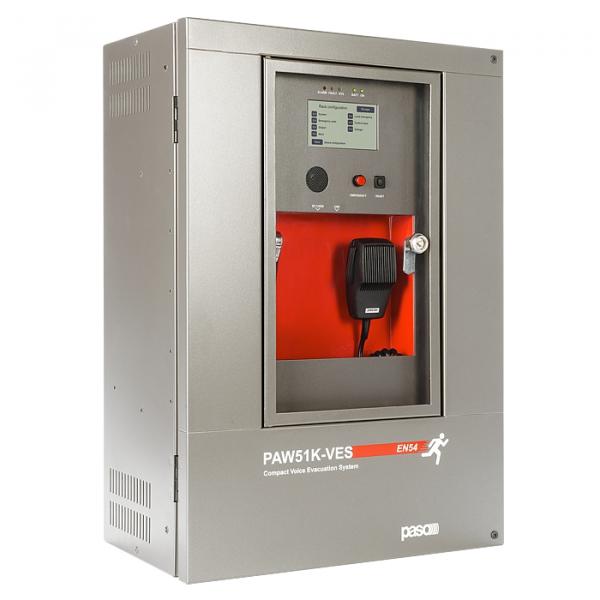 PASO PAW51K6-V Готовая система СОУЭ на 6 зон/1000 Вт