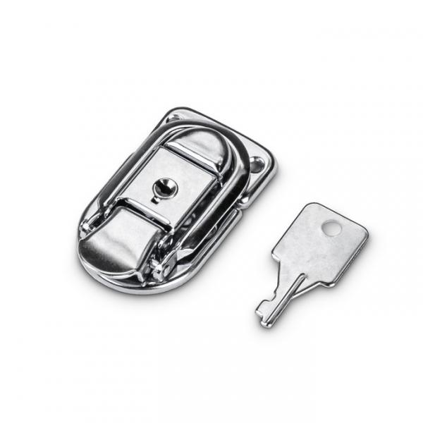 Adam Hall 1907 M10 AH замок-захват малый никелированный с ключом в упаковке