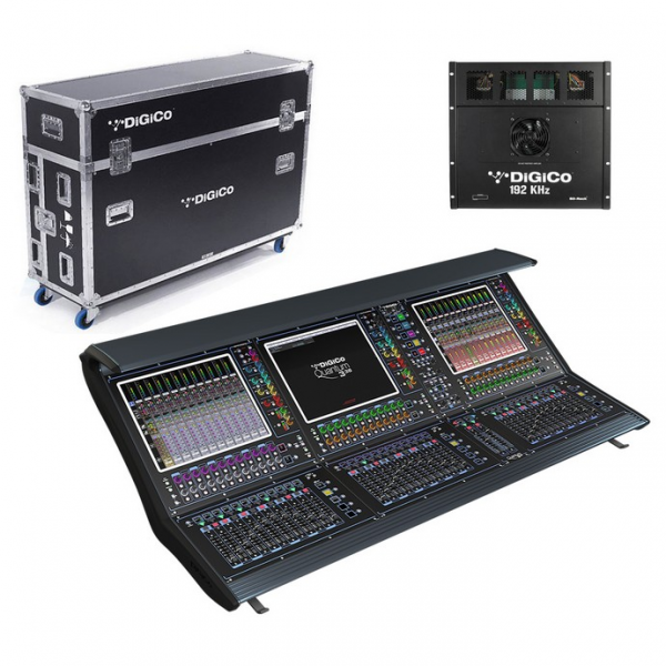 DiGiCo QUANTUM 338 32B SYSTEM Цифровая микшерная система