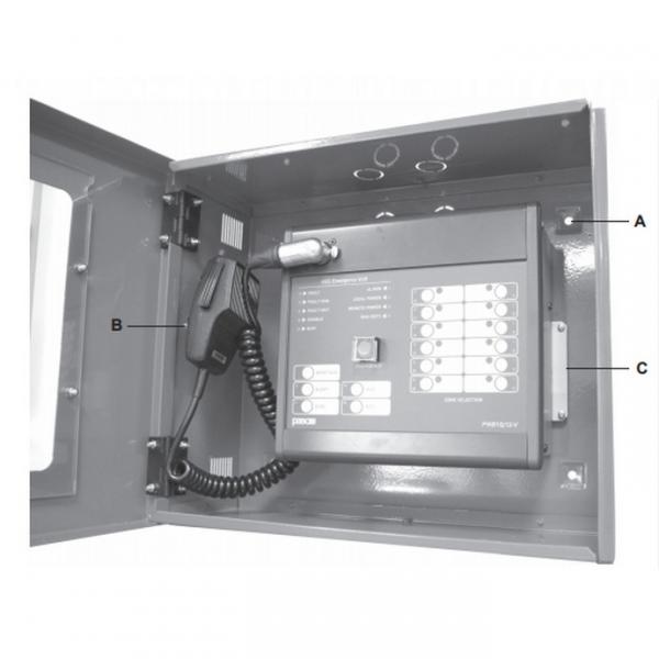 PASO AR8500 Настенный шкаф для микрофонной станции