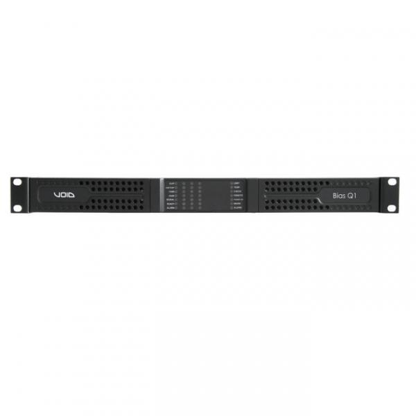 VOID Bias Q1 4-х канальный усилитель мощности с DSP и поддержкой Dante