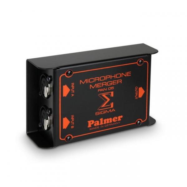 Palmer PAN 05 Пассивный 2-х канальный мерджер микрофонного сигнала
