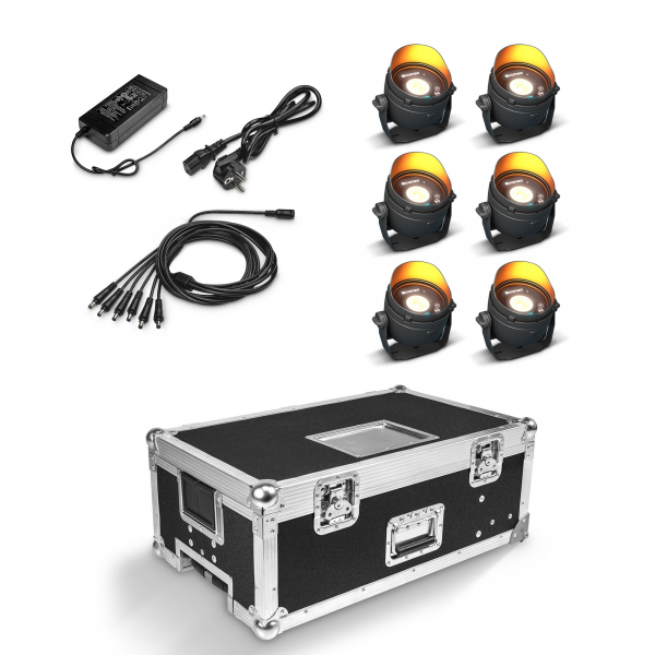 Cameo DROP B1 TOURING SET (black) комплект из 6 DROP B1 в туровом кейсе