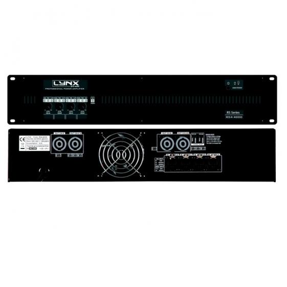 LYNX PRO AUDIO RS4-2000 Усилитель мощности 4-х канальный