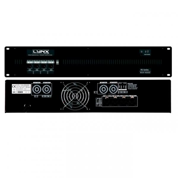 LYNX PRO AUDIO RS4-4000 Усилитель мощности 4-х канальный