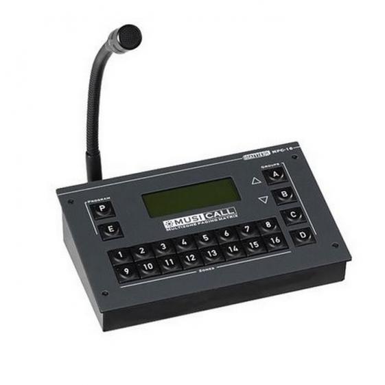 MUSICALL MPC16 Пейджинговая и микрофонная консоль управления
