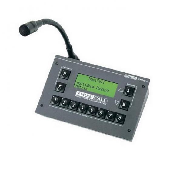 MUSICALL MPC8 Пейджинговая и микрофонная консоль управления