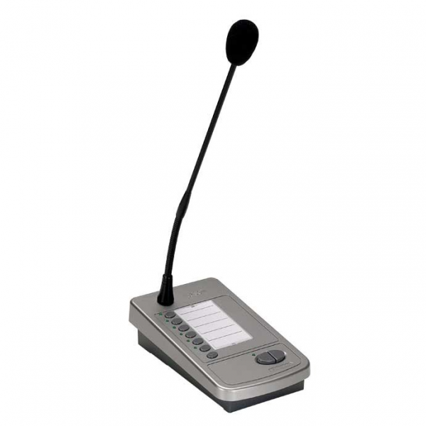 PASO PMB106-G цифровая микрофонная станция на 6 зон