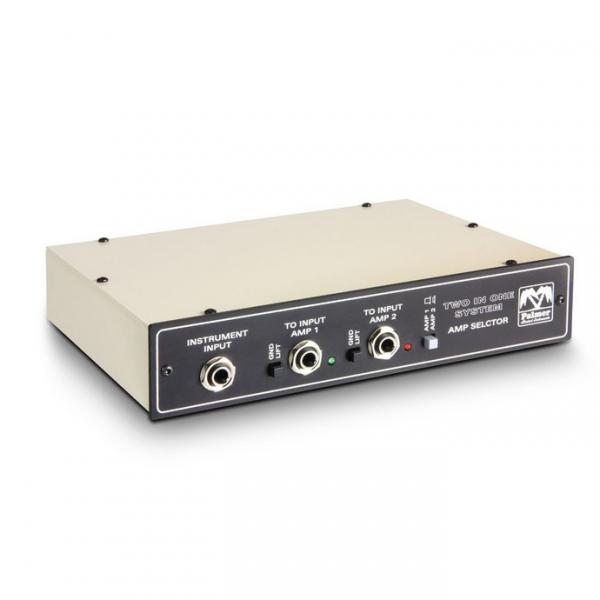 Palmer Tino System система переключения 2-х гитарных усилителей на один кабинет