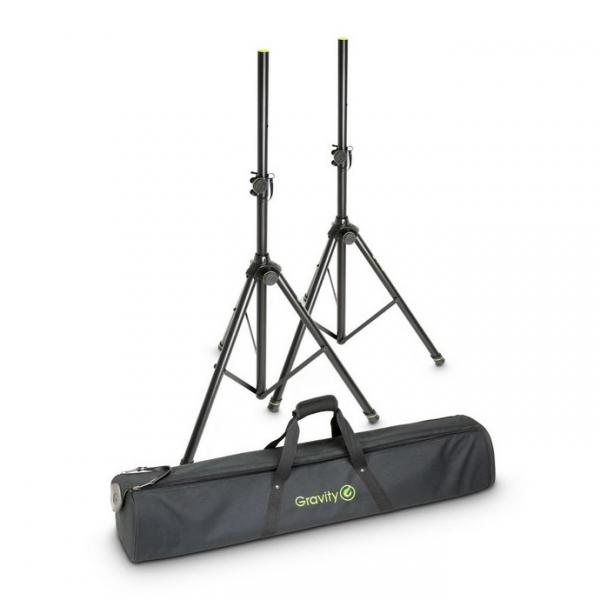 Gravity SS 5212 B SET 1 Комплект 2-х стоек для акустических систем в чехле