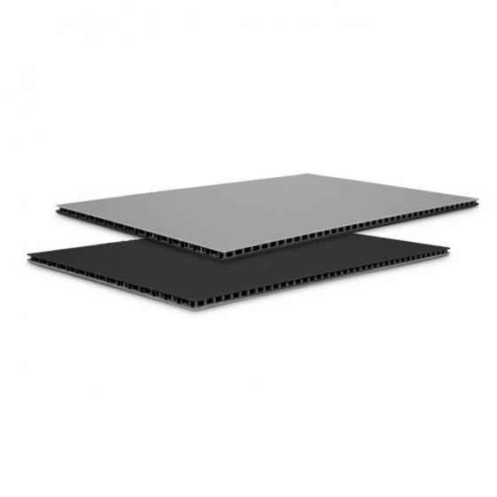 Adam Hall 0546 BG сэндвич-панель пластик двойной черный-серый 4,5 мм