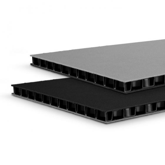 Adam Hall 0594 BG сэндвич-панель пластик двойной черный-серый 9,4 мм