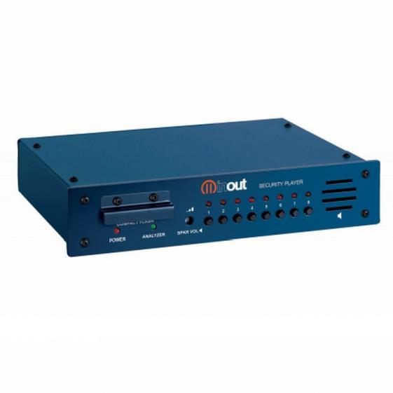 INOUT Security Player S-01 флеш-аудиоплеер