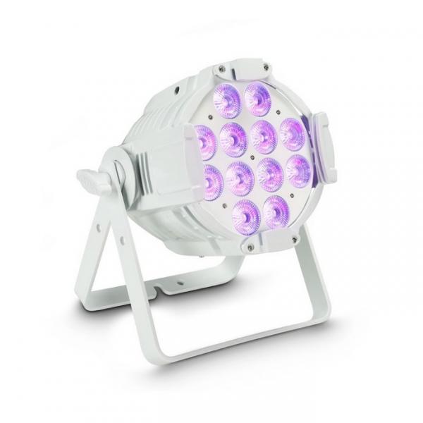 Cameo Studio PAR 64 CAN RGBWA + UV 12 W WH прожектор 12х12 Вт