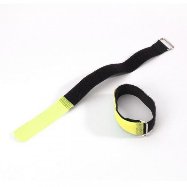 Adam Hall VR 5080 YEL Стяжка для кабеля 80 см с крючком желтая