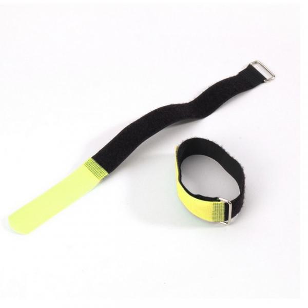 Adam Hall VR 5050 YEL Стяжка для кабеля 50 см с крючком желтая