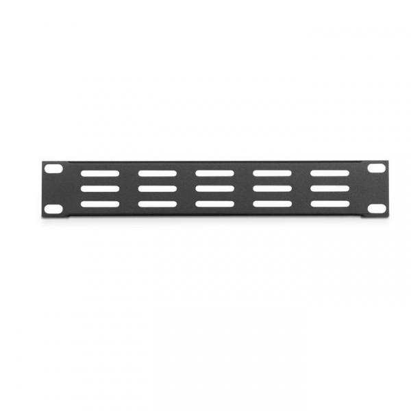 """Adam Hall 86221 VH  Вентиляционная панель 1U 9,5"""" с горизонтальными пазами  для рэковой стойки 19"""""""